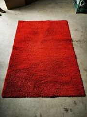 Roter Teppich Rot 133x195 cm