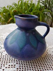 Keramikvase Krug im skandinavischen Landhaus-Stil