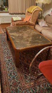 wohnzimmer tisch fossiliengestein