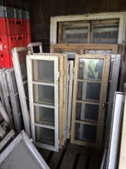Alte Holzfenster Sprossenfenster