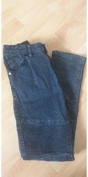 Schwarze Jungen Jeans Größe 152