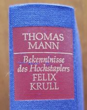 Buch von Thomas Mann Bekenntnisse
