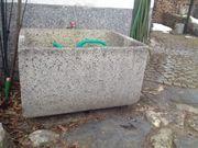 Wassertrog Kunststein