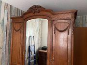 Antiker Kleiderschrank Empire Jugendstil Barockstil