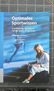 Optimales Sportwissen Buch für Sportabitur