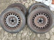 4x Winterreifen Dunlop 155 65