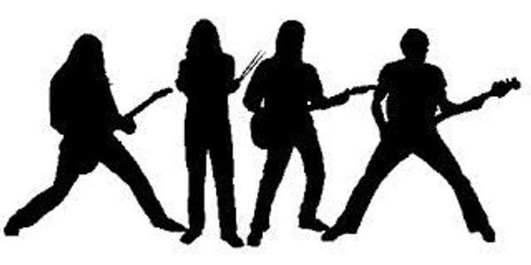Gitarre Bass Schlagzeug Gesang Band