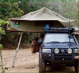 Campingartikel - Zelt für das Autodach Dachzelt