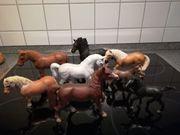 Weihnachtsgeschenk Altserien 8 Schleichtiere Schleichpferde