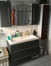 Badmöbel-Set Badschrank Waschtischunterschrank