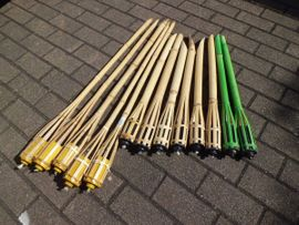 Alles Mögliche - Fackeln Petroleumfackeln Gartenfackeln Bambusfackel