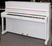 Klavier Schimmel 108 weiß satiniert