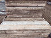 Gerüstbohlen Holzbohlen Holzbeläge Upcycling Möbelbau