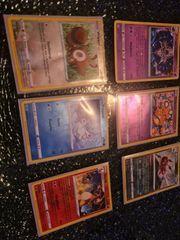 6 Poke Mon Holo Karten