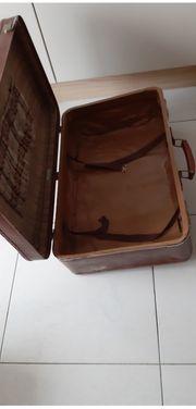 Vintage Koffer von Gold Pfeil