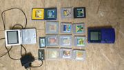Gameboy advanced SP mit Spielen
