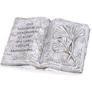Grabschmuck Buch mit Spruch Das