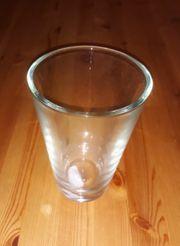 Glasvase Windlicht konisch 17 cm