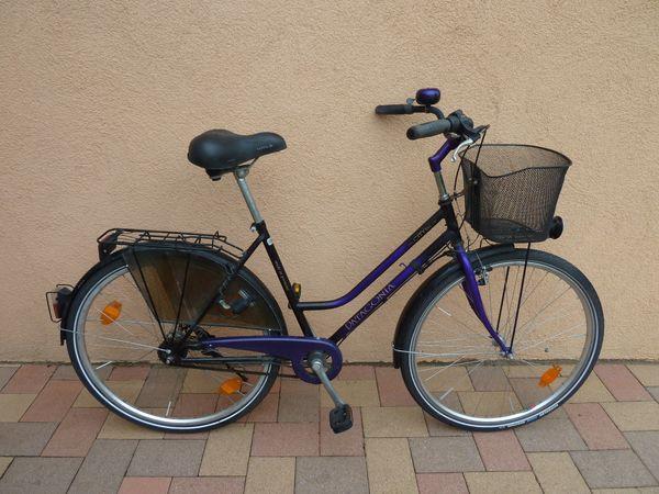Schönes 28 Hollandrad mit Korb