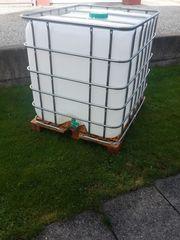 1000 liter Wassertank neuwertig Orginalfoto