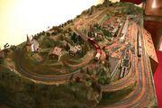 Modelleisenbahn-Landschaft H0 Fleischmann analog