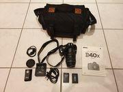Nikon D40x mit originalem Objektiv
