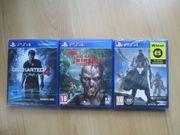 3x neue PS4 Spiele Action