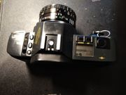 Analoge Spiegelreflexkamera Canon T 70