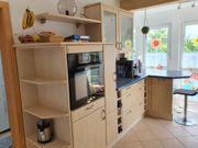 Kücheneinrichtung Frontausführung Wildkirsche