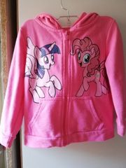 Wunderschöne Little Pony Sweatjacke Pullover