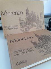 München Bildband 104 Zeichnungen von