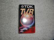2 neue TDK Videokassetten