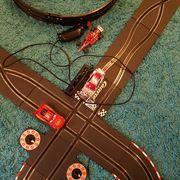 Carera Bahn mit Looping und