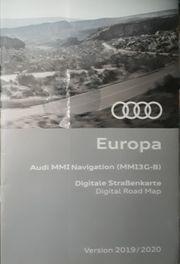 AUDI Navi Europa Version 2019