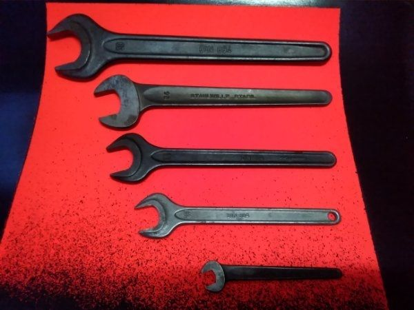 Gabelschlüssel alte Modelle verkauft