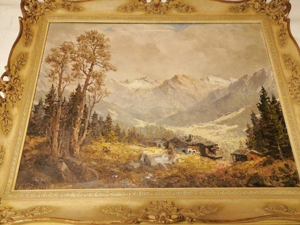 Ölgemälde von Adolf Wegener
