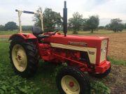 Restaurierter IHC 353 Schlepper Traktor
