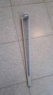 Tischbeine VIKA INGE Ikea silber