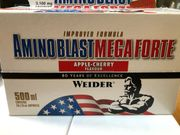 Aminoblast Mega Forte apple cherry