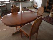 Musterring Kirschbaumtisch mit 8 Stühlen