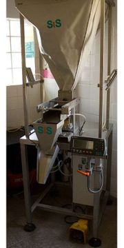Abfüllmaschine für Lebensmittel Trockenware Gewürze