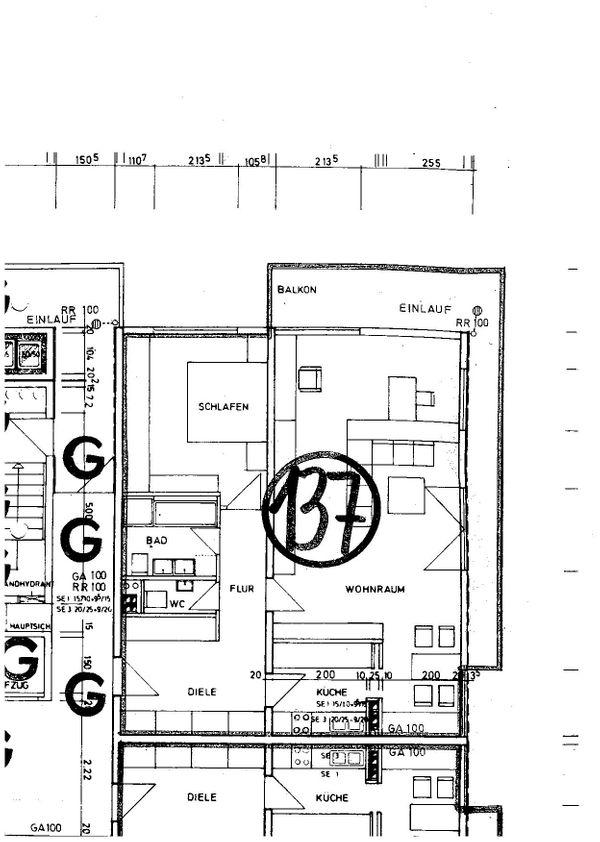 3-Zi -Wohnung in Stein bei
