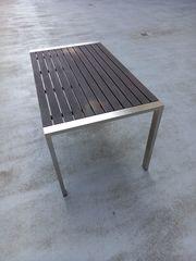 Gartentisch Cairodesign 4 Bistrostühle Aluminium