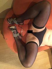 Getragene Wäsche Slips Schuhe Catsuit