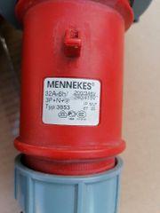 CEE 32A 6h 400V Stecker