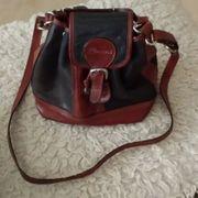 Handtasche Leder Rucksack-form
