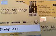 1-4x Stehplatz Sting beim Jazzopen