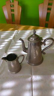 1 Kaffeekanne, 1 Milchkanne, gebraucht gebraucht kaufen  Nufringen