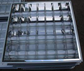Bild 4 - 11x Rasterleuchte Büro- Praxisleuchte Neonröhren-Deckenleuchte - Belzig