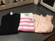 Mädchen Oberteile T-Shirt Bluse Strickjacke